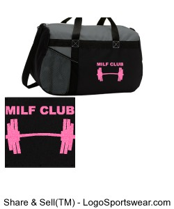 MILF Club Gym Bag Design Zoom