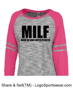 MILF Long Tee Design Zoom